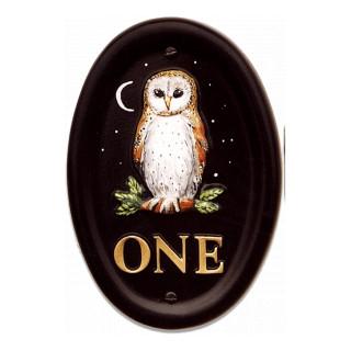 Owl Barn Small Bird House Sign house sign