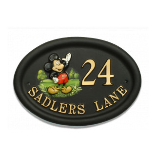 Mickey Mouse Miscellaneous House Sign house sign