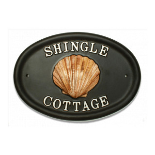 Shell Scallop Miscellaneous House Sign house sign