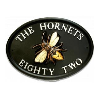 Hornet Bird House Sign house sign