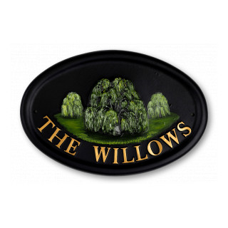 Willow Tree House Sign house sign
