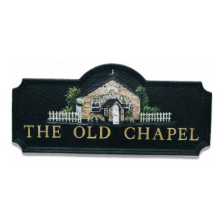 Chapel Miscellaneous House Sign house sign