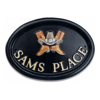 Cowboy Boots Miscellaneous House Sign house sign