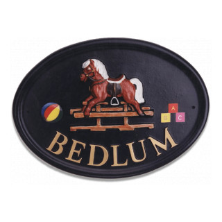 Rocking Horse Miscellaneous House Sign house sign