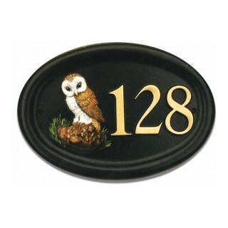 Owl Bird House Sign house sign