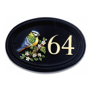 Bluetit Sign Bird House Sign house sign