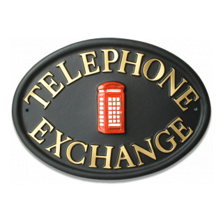 Telephone Box Miscellaneous House Sign house sign