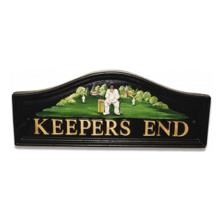 Cricket Wicket Keeper Miscellaneous House Sign house sign