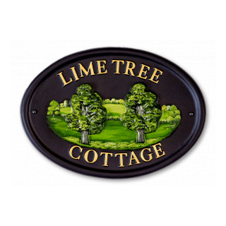 Lime Tree House Sign house sign