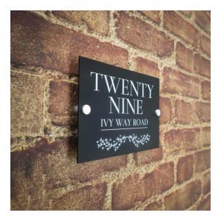 Oxford Acrylic House Sign house sign
