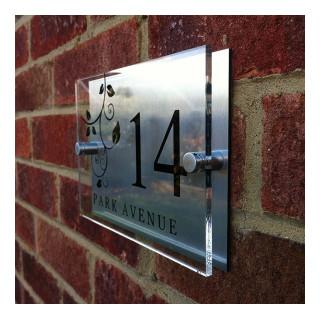 Kingham Acrylic House Sign house sign