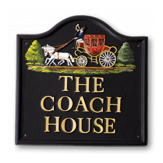Coach & Horses Miscellaneous House Sign house sign
