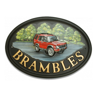 Car Land Rover Miscellaneous House Sign house sign
