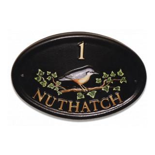 Nuthatch Bird House Sign house sign