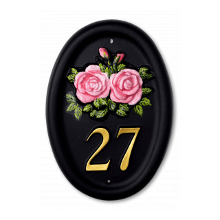 Roses Flower House Sign house sign
