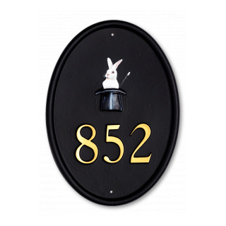 Magicians Hat Miscellaneous House Sign house sign