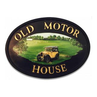Car Austin Chummy Miscellaneous House Sign house sign
