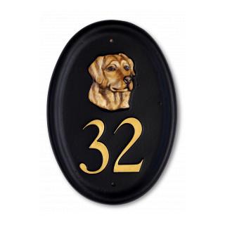 Labrador Head Dog House Sign house sign