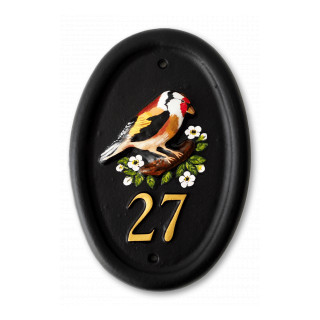 Goldfinch Bird House Sign house sign