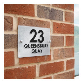 Queensbury Acrylic House Sign house sign