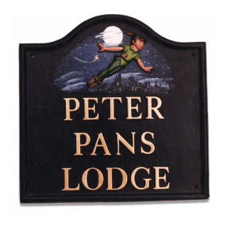 Peter Pan Miscellaneous House Sign house sign
