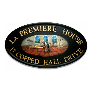 Frame Maker Miscellaneous House Sign house sign