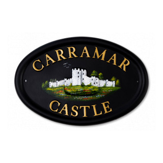 Castle Miscellaneous House Sign house sign