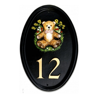Teddy Miscellaneous House Sign house sign