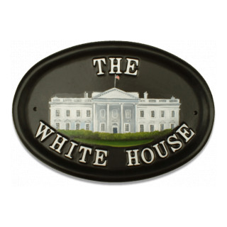The White House Miscellaneous House Sign house sign