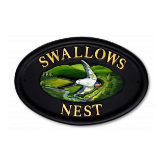 Swallows Bird House Sign house sign