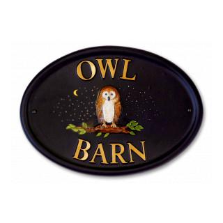 Owl Barn Bird House Sign house sign