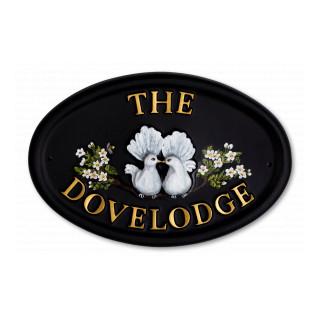 Doves Bird House Sign house sign
