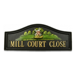 Windmill Small Miscellaneous House Sign house sign