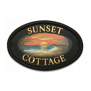 Sunset Miscellaneou house sign