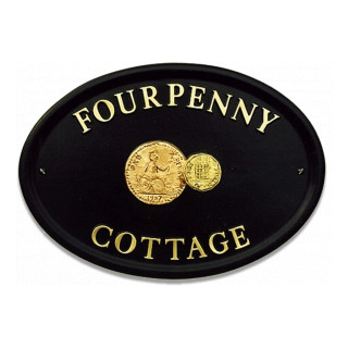 Penny Coins Miscellaneous House Sign house sign