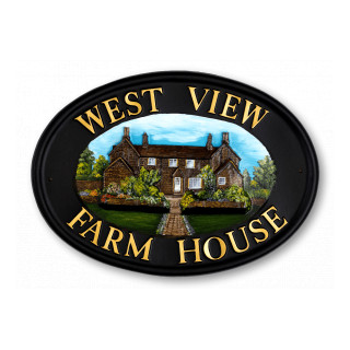 Farmhouse Miscellaneous House Sign house sign