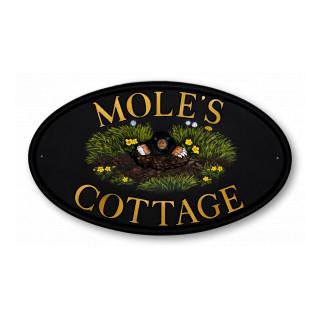 Mole Animal House Sign house sign