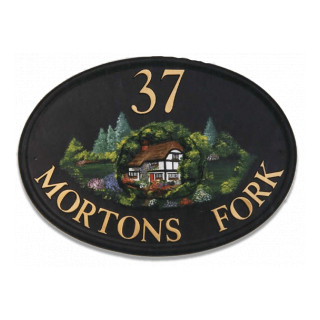 Cottage Miscellaneous House Sign house sign