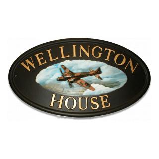 Plane Wellington Bomber Miscellaneous House Sign house sign