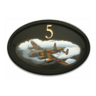 Plane Lancaster Bomber Miscellaneous House Sign house sign