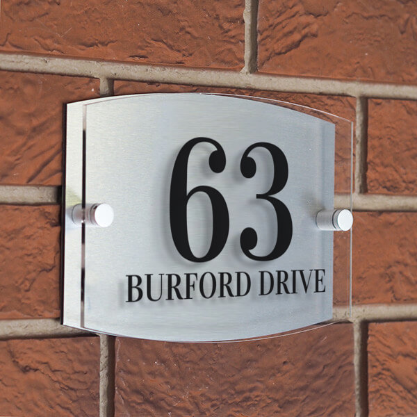 Burford house sign