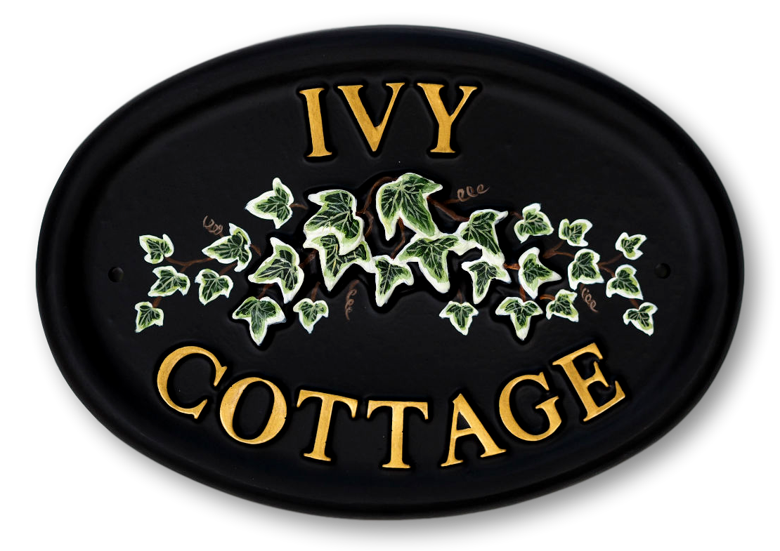 Ivy house sign